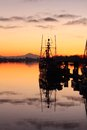 Calm Harbor Morning, Steveston Royalty Free Stock Photography
