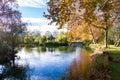 Calming autumn scene Royalty Free Stock Photo