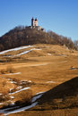 Calvary in winter, Banska Stiavnica Slovakia Royalty Free Stock Photography