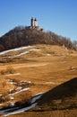 Calvary in winter, Banska Stiavnica Slovakia