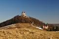 Kalvária v zime, Banská Štiavnica Slovensko