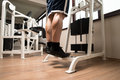 Calves Exercise Royalty Free Stock Photo