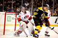 Cam Ward and Milan Lucic Royalty Free Stock Photo