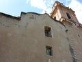Camarena de la sierra teruel spain church of Stock Photo