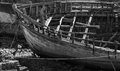 Camaret sur mer shipwrecks brittany france Royalty Free Stock Photo