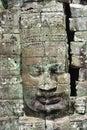 Cambodia Angkor Bayon temple Royalty Free Stock Images