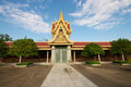 Cambodia's Royal Palace Stock Photo