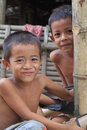 Cambodian Boys Royalty Free Stock Photo