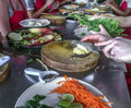 Cambodian Cooking Class Royalty Free Stock Photo