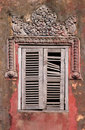 Cambodian window Royalty Free Stock Images