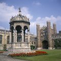 Cambridge: Trinity College Stock Photo