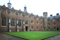 Cambridge University Kings College Royalty Free Stock Photo