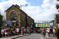 Camden Lock, London Royalty Free Stock Photo
