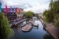 Camden river Royalty Free Stock Photo
