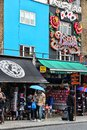 Camden town london may visitors walk along shops on may in london according to tripadvisor currently is one of top Stock Image