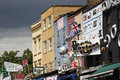 Camden Town, Market, London Stock Photos