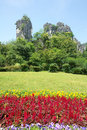 Camel mountain the landscape of in qixing park in guilin guangxi china Royalty Free Stock Image