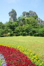 Camel mountain the landscape of in qixing park in guilin guangxi china Stock Photo