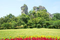 Camel mountain the landscape of in qixing park in guilin guangxi china Royalty Free Stock Photography