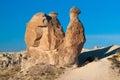 Camel Rock Cappadocia Rock Formations Royalty Free Stock Photo