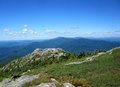 Camel's Hump Summit View Royalty Free Stock Photo