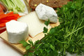 Camembert and brie Royalty Free Stock Photo
