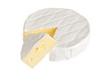 Camembert cheese Royalty Free Stock Photo