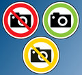 Camera Banned Stock Photo