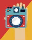 Camera design Royalty Free Stock Photography