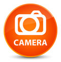 Camera elegant orange round button