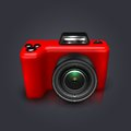 Camera this is file of eps format Royalty Free Stock Image
