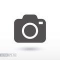 Camera - flat icon