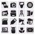 Camera icon Royalty Free Stock Photos
