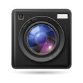 Camera icon Lens Royalty Free Stock Photo