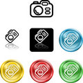 Camera icon symbol Royalty Free Stock Photos