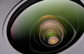 Camera lense Royalty Free Stock Photo