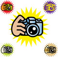 Camera Logo Stock Photography
