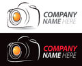 Camera Logo Royalty Free Stock Photos