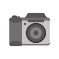 Camera photographic isolated icon