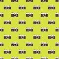 Camera seamless pattern background Royalty Free Stock Photo