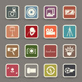 Camera symbol Stock Photography
