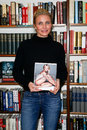 Cameron diaz huntington ny jan actress signs her book the body book the law of hunger the science of strength and other ways to Royalty Free Stock Images