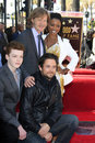 Cameron Monaghan, Felicity Huffman, Justin Chatwin, Shanola Hampton, William H Macy Royalty Free Stock Photography