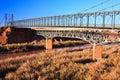 Cameron Suspension Bridge Royalty Free Stock Photo