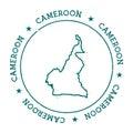 Cameroon vector map.