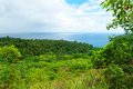 Camiguin island phillippines view from the old volcano is a small near mindanao philippines is is a popular tourist destination in Royalty Free Stock Photography