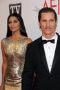 Camila alves matthew mcconaughey and at afi s th annual achievement award honoring morgan freeman sony pictures studios culver Stock Photo