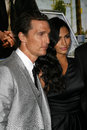 Camila alves matthew mcconaughey and at the lincoln lawyer los angeles screening arclight theater hollywood ca Stock Photos