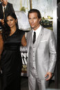 Camila alves matthew mcconaughey los angeles mar arriving at the lincoln lawyer premiere at arclight theaters on march in los Royalty Free Stock Photos