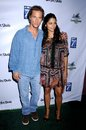 Camila alves matthew mcconaughey and at the los angeles premiere of surfer dude malibu cinemas malibu ca Stock Photos